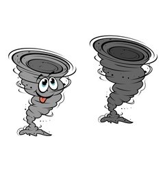 Cartoon hurricane vector