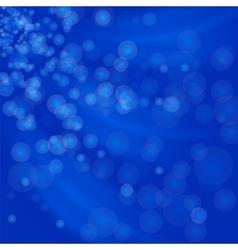Blurred Lights Blue Background vector