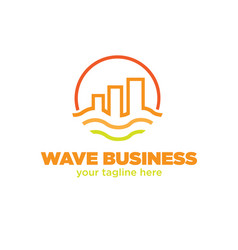 business logo designs vector image