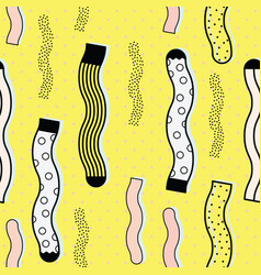 cute colorful background socks pattern vector image