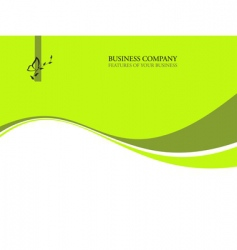 ecology business background vector image