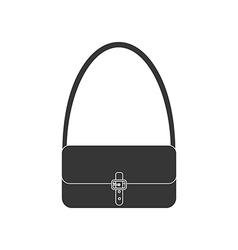 Handbag icon vector image