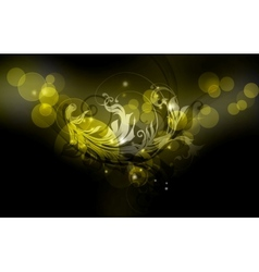 Luxury Background black vector image