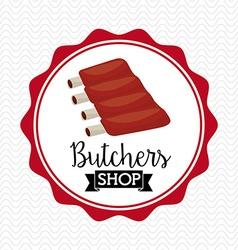 Seal butcher vector