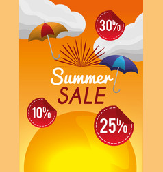 season summer image vector image