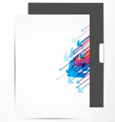 letterhead design vector image vector image