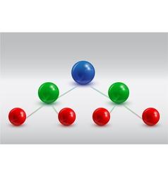 balls infographic 5 vector image