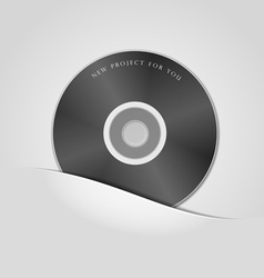 CD package vector image vector image