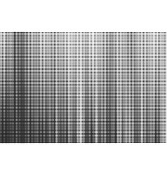 striped halftone background monochrome vector image vector image