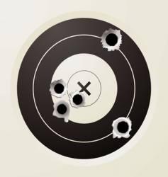 target bullet vector image vector image