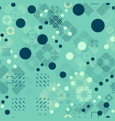 Faded geometric seamless pattern vector