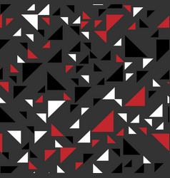 fashion triangle seamless abstract background vector image