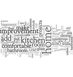Home improvement ideas vector