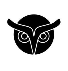 Owl icon image vector