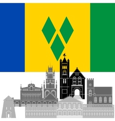 Saint Vincent and the Grenadines vector