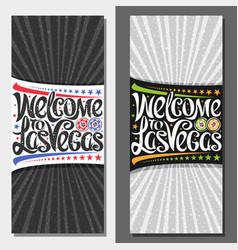 vouchers for las vegas vector image