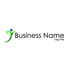 Business name vector image