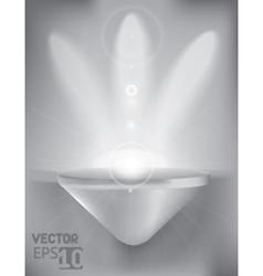 Display case vector image