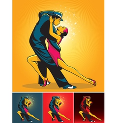 tango colors vector image