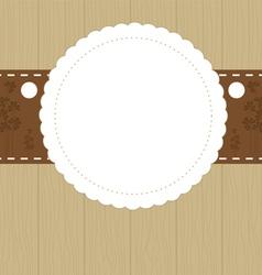 invitation card i vector image