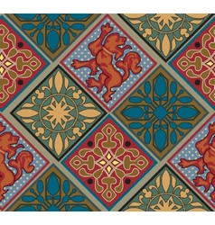 Baroque Royal Tile Pattern vector