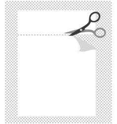 cut corners vector image