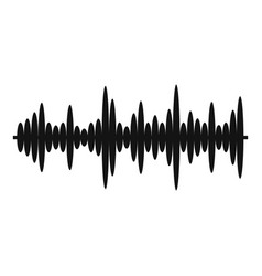 Equalizer tune icon simple black style vector
