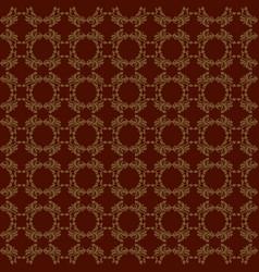 Seamless damask patterns vector