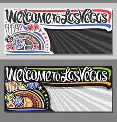 Vouchers for las vegas vector
