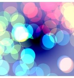 bokeh vibrant vector image