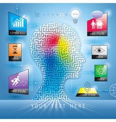 Marketing Concept vector image vector image
