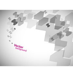 Abstract transparent grey background vector image vector image