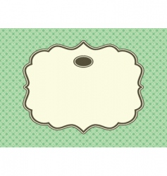 daisy pattern vector image vector image
