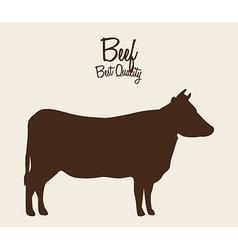 Beef cow vector