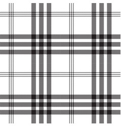 black white check pixel square fabric texture vector image