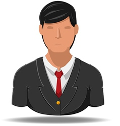 Business man icon cartoon vector image