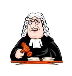 judge make verdict vector image