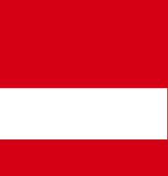 Monaco national flag in exact proportions vector
