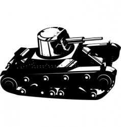 tank vector image vector image