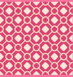 tile pink decorative floor tiles pattern vector image