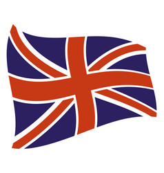 uk country flag icon vector image