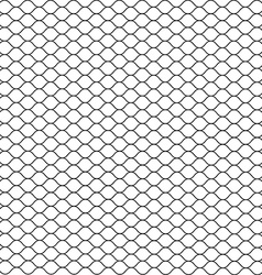 Cage Grill Mesh Octagon Background vector image vector image