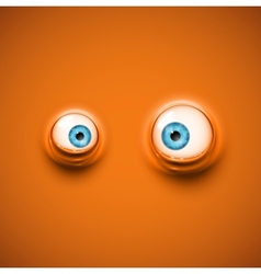 Background with eyes vector