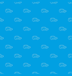 car air ventilation pattern seamless blue vector image