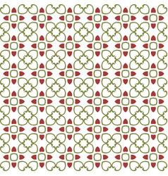 Floral tiles seamless patternflower geometric vector
