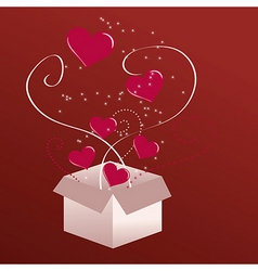 gift of love vector image