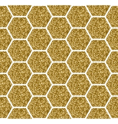 Hexagon Seamless Pattern vector image
