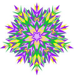 mehndi design ethnic binary vector image