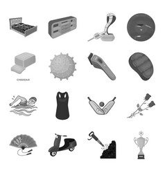 Sport transport mine and other web icon in vector