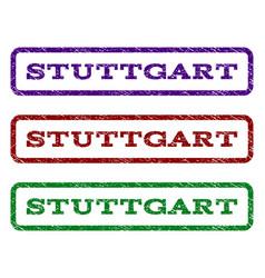 stuttgart watermark stamp vector image